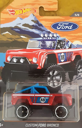 Hot Wheels Walmart Ford Trucks - Custom Ford Bronco