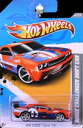 Hot Wheels Code Cars - Dodge Challenger Drift Car