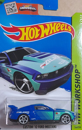 Hot Wheels Workshop - Custom '12 Ford Mustang