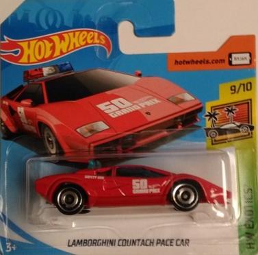 Hot Wheels Exotics - Lamborghini Countach Pace Car