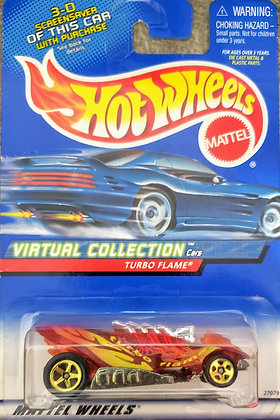 Hot Wheels Virtual Collection - Turbo Flame