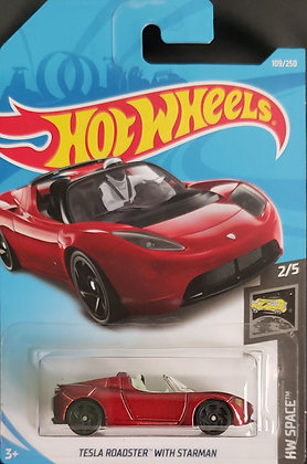 Hot Wheels Space - Tesla Roadster with Starman