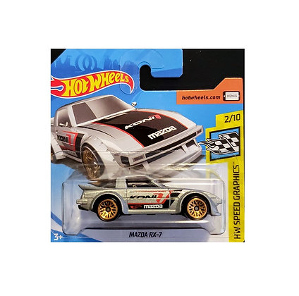 Hot Wheels Speed Graphics - Mazda RX-7