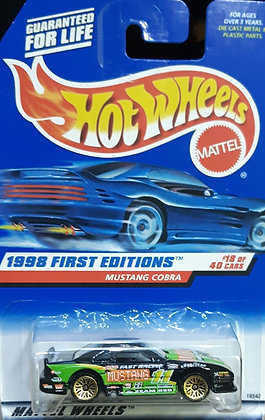 Hot Wheels First Editions - Mustang Cobra