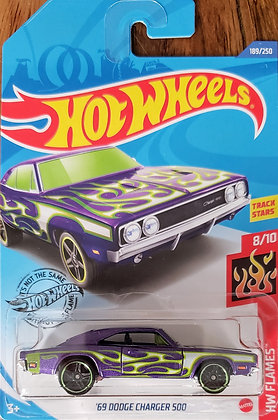 Hot Wheels Flames - '69 Dodge Charger 500
