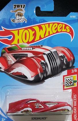 Hot Wheels Holiday Racers - Screamliner