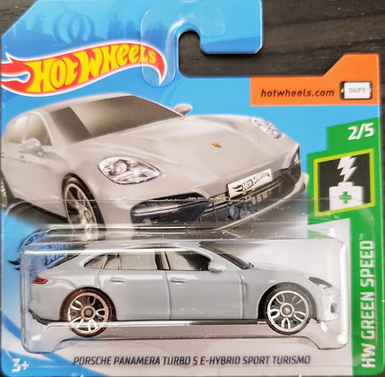 Hot Wheels Green Speed - Porsche Panamera Turbo S E-Hybrid Sport Turismo