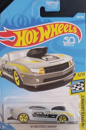 Hot Wheels Speed Graphics - '10 Pro Stock Camaro (Mooneyes)