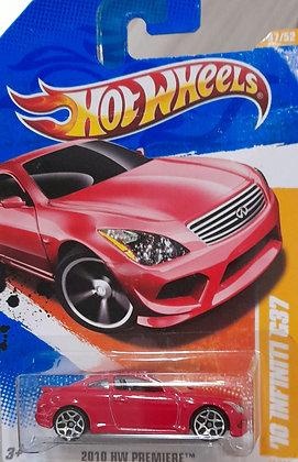 Hot Wheels Premiere - '10 Infiniti G37