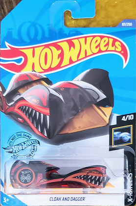 Hot Wheels X-Raycers - Cloak and Dagger