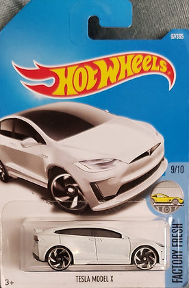 Hot Wheels Factory Fresh - Tesla Model X