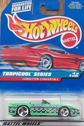 Hot Wheels Tropicool - Corvette Convertible