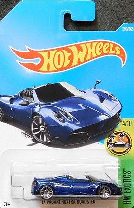 Hot Wheels Exotics - '17 Pagani Huayra Roadster