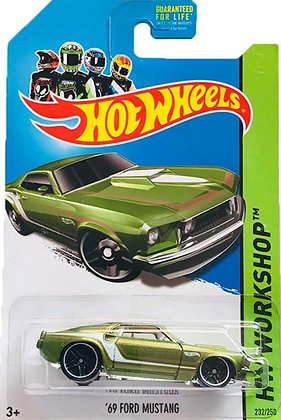 Hot Wheels Workshop - '69 Ford Mustang