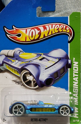 Hot Wheels Imagination - Retro-active