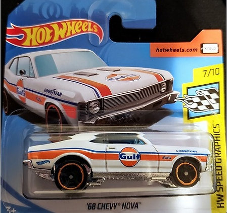 Hot Wheels Speed Graphics - '68 Chevy Nova Gulf