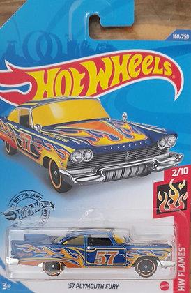 Hot Wheels Flames - '57 Plymouth Fury