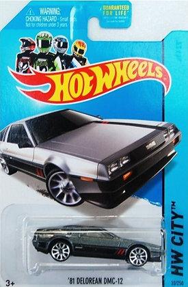 Hot Wheels City - '81 Delorean DMC-12