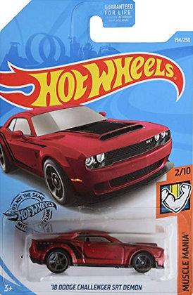 Hot Wheels Muscle Mania - '18 Dodge Challenger SRT Demon