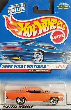 Hot Wheels First Editions - '70 Roadrunner