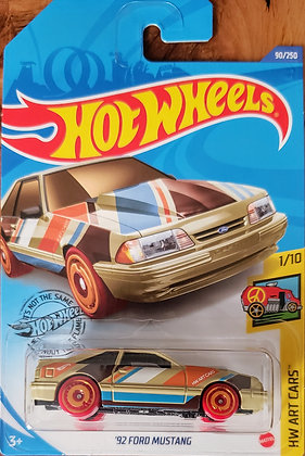Hot Wheels Art Cars - '92 Ford Mustang