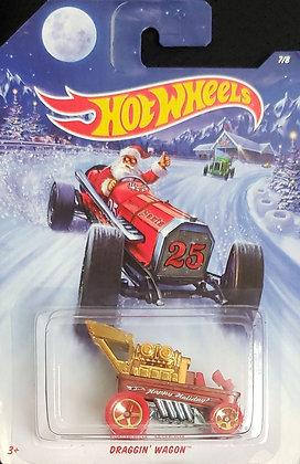 Hot Wheels Holiday Hot Rods - Draggin' Wagon