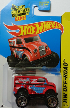 Hot Wheels Off-Road - Monster Dairy Delivery