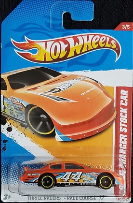 Hot Wheels Thrill Racers - Dodge Charger Stock Car