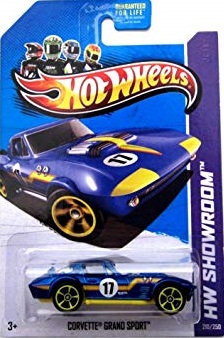 Hot Wheels Showroom - Corvette Grand Sport