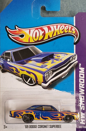 Hot Wheels Showroom - '69 Dodge Coronet Superbee