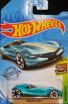 Hot Wheels Exotics - Twin Mill Gen-E