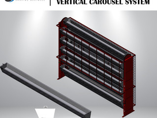 Industrial Long Goods Carousel System