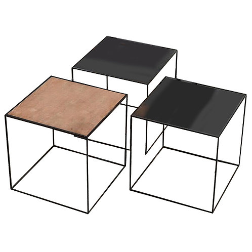 ALL FOR ONE SIDE TABLE SET