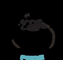 Flydende restaurant logo