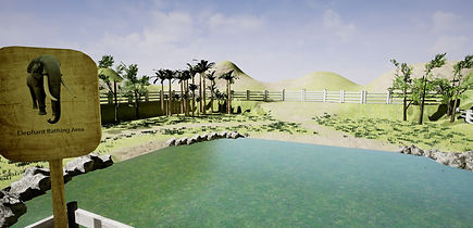 Proposed new development for a bathing area