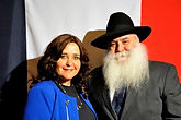 Rabbi MIkhael & Esther Cohen, founders of Beth chabad francais et Francophone , CCF New York