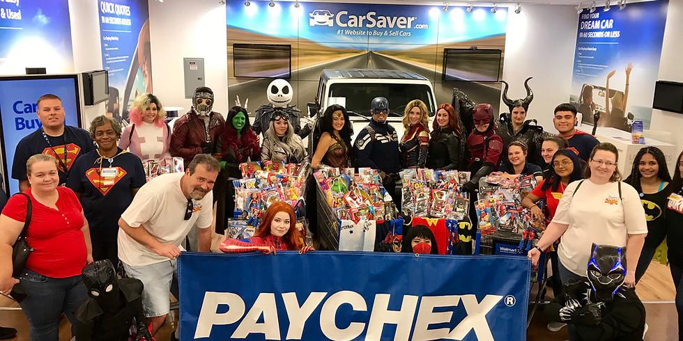 The 4th Paychex Superhero Shopping Spree