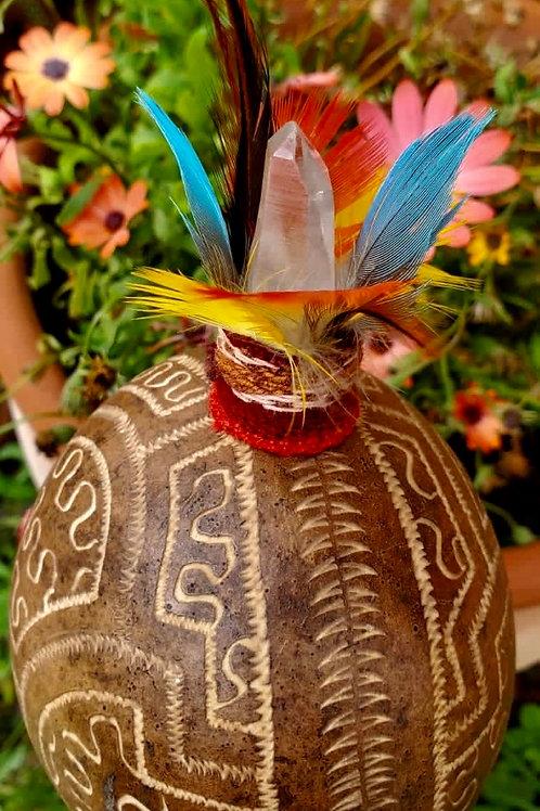 Ayahuasca Medicine Rattle
