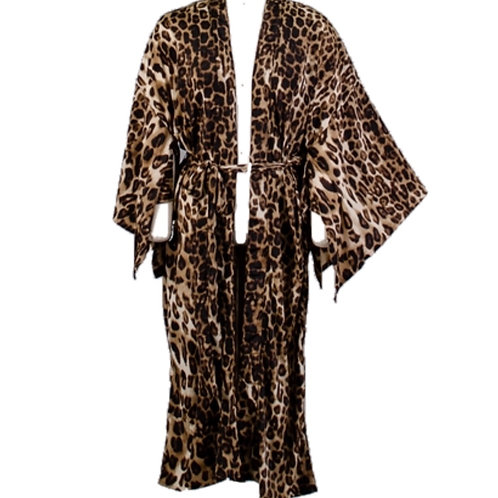 Leapord Print Duster