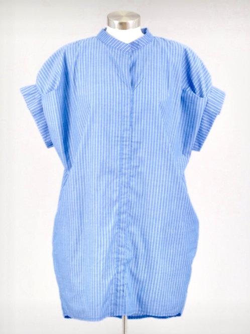 Pin Stripe Tunic Dress