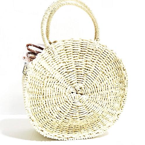 Infinity| Straw Bag