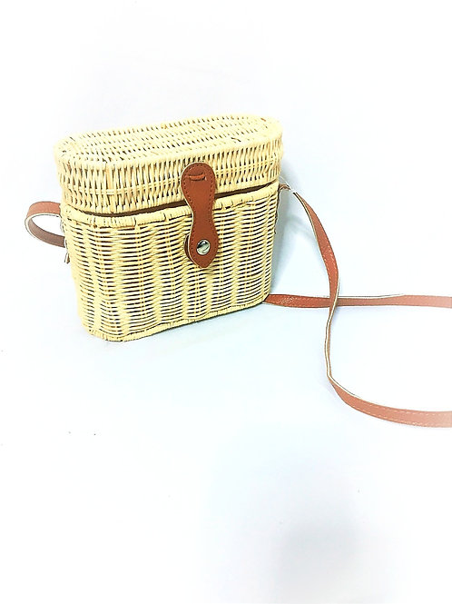 Straw Cross body Shoulder Bag