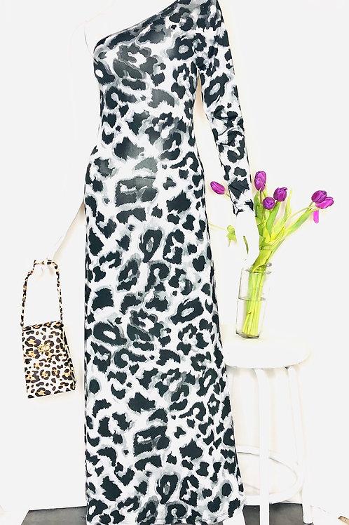 Maxi One Shoulder Dress