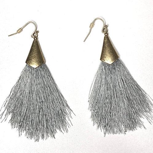 Fringe Thread Tassel Earrings