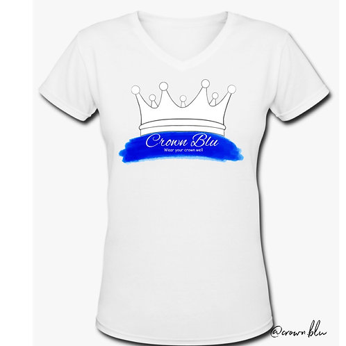 Wear your crown well | Crown Blu Tee