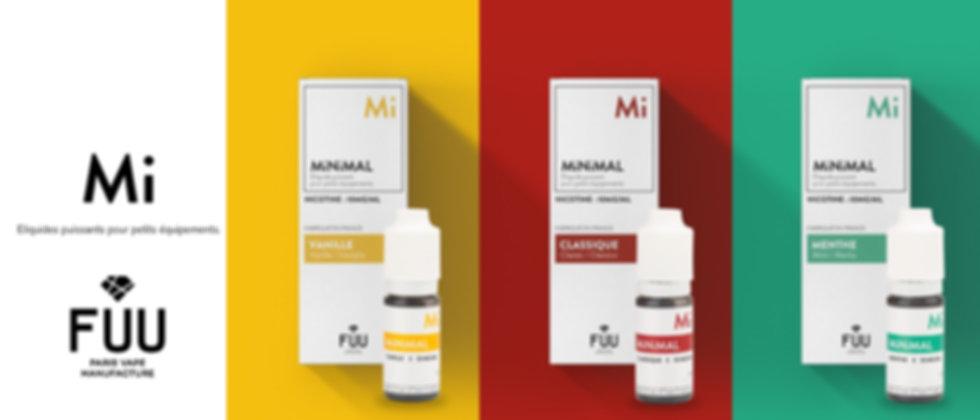 eliquide The Fuu Minimal sel de nicotine