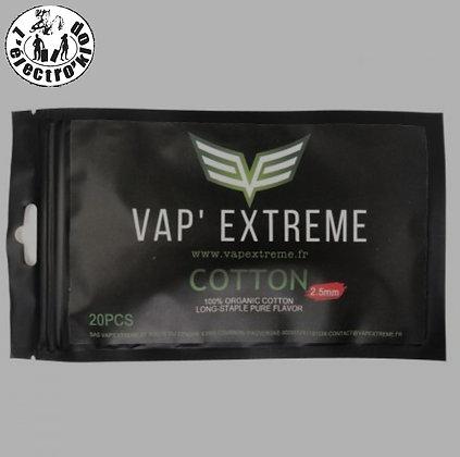 Coton aglets 2.5/3mm- Vap'Extreme