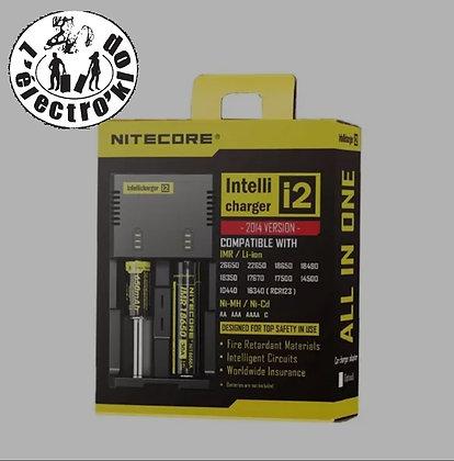 Nitecore- chargeur X2 accus-New I2
