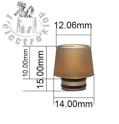 Drip Tip Ultem (S)-Fumytech