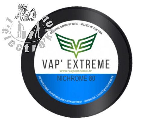 Fil NI80 44 Ga (0,0502 mm)- Vap'Extreme